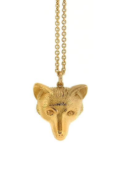 Silver Fox Necklace