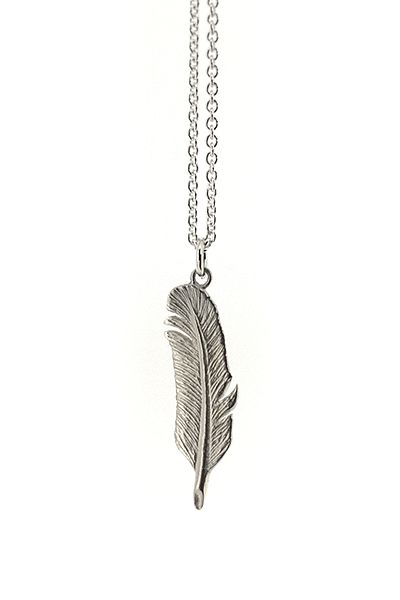 Silver Quill Necklace
